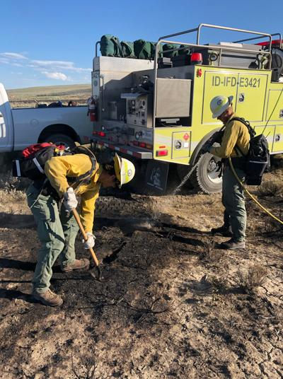 Lightning starts largest fire of the season near Table Butte