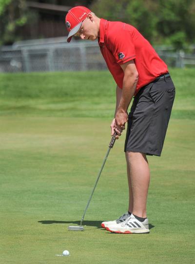 Madison golfer Zach Martin