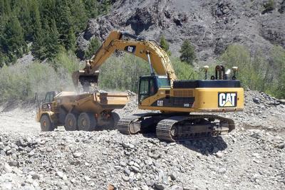 Work restarts on Bonanza Stream restoration | Local News