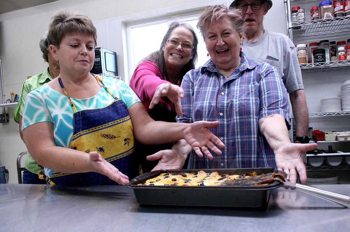 Senior center cuts back lunch program