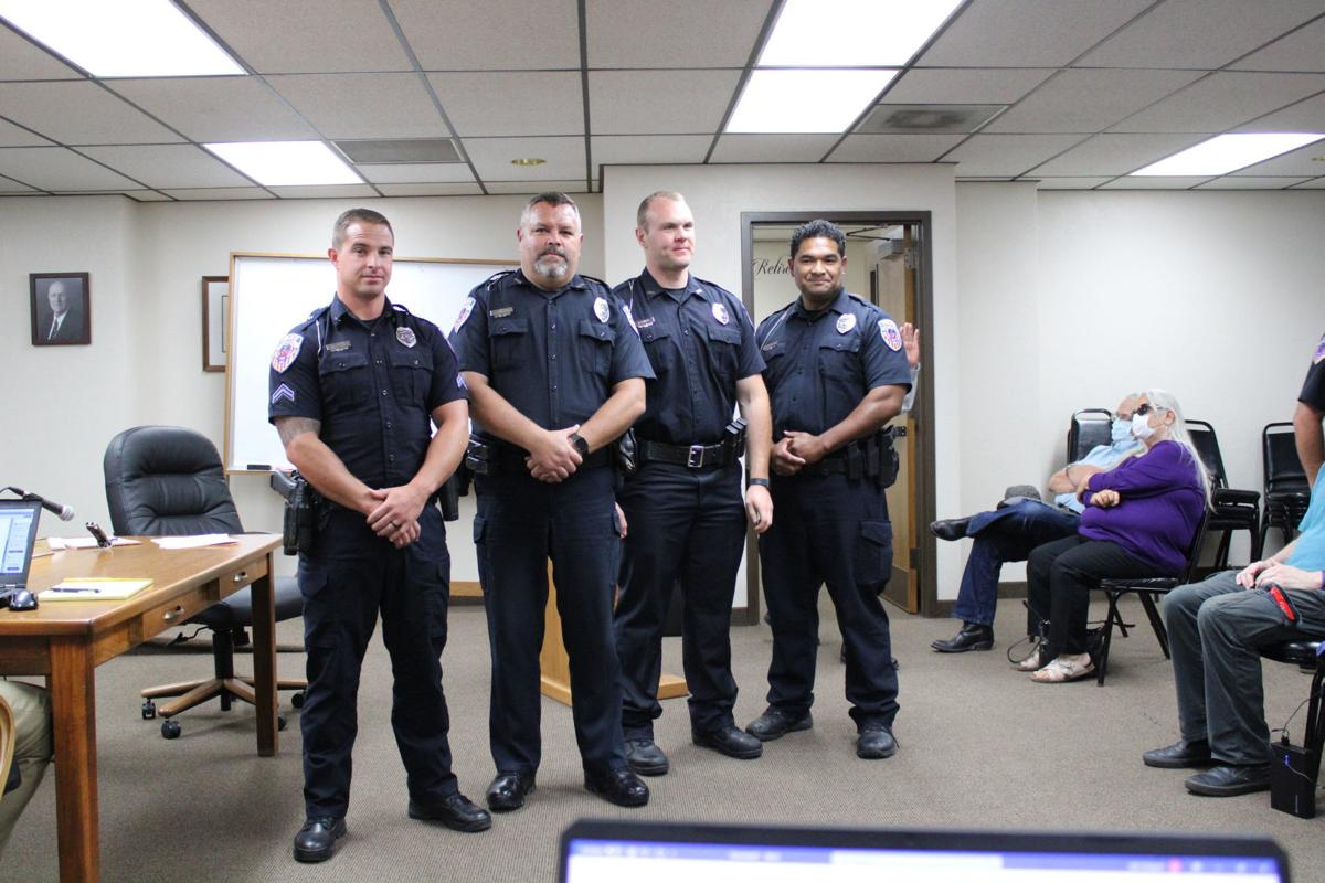 Lifesaving - All four officers