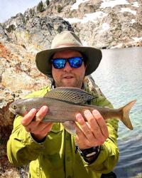 Record Arctic grayling caught near Stanley
