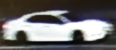 Robbery suspect vehicle