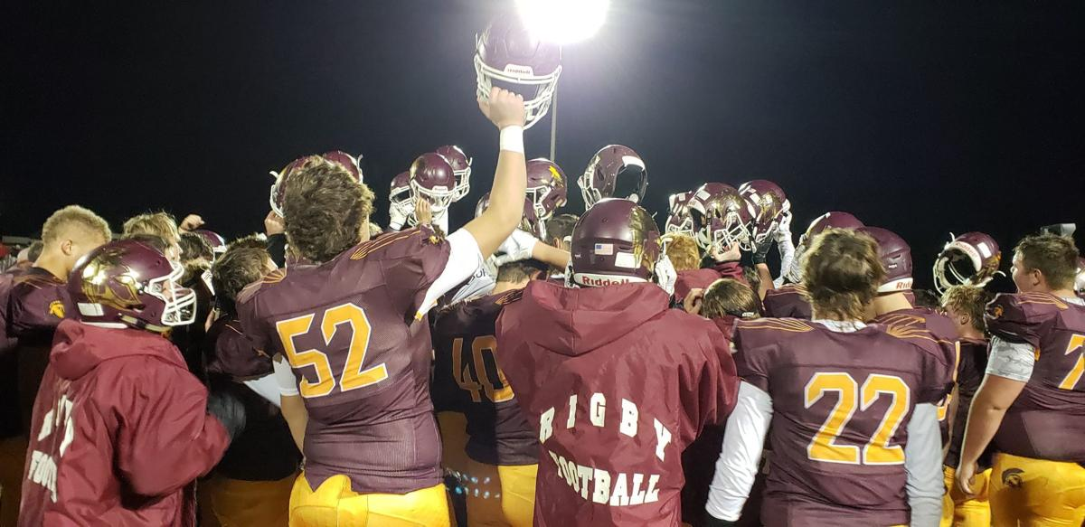 Rigby wins 5A Division 5-6 football title with win over Highland