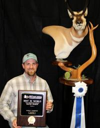 Family taxidermy business wins big at world competition