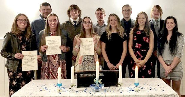 Challis honor society inducts 7 members