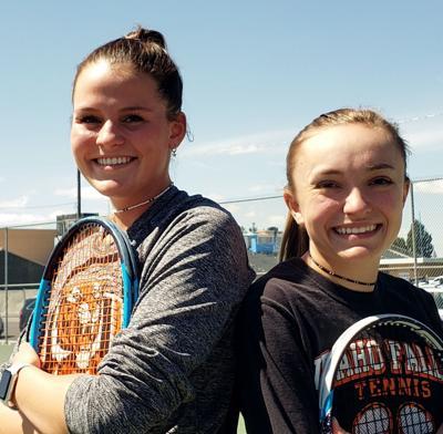 Idaho Falls tennis Rachel Harris and Whitney Black