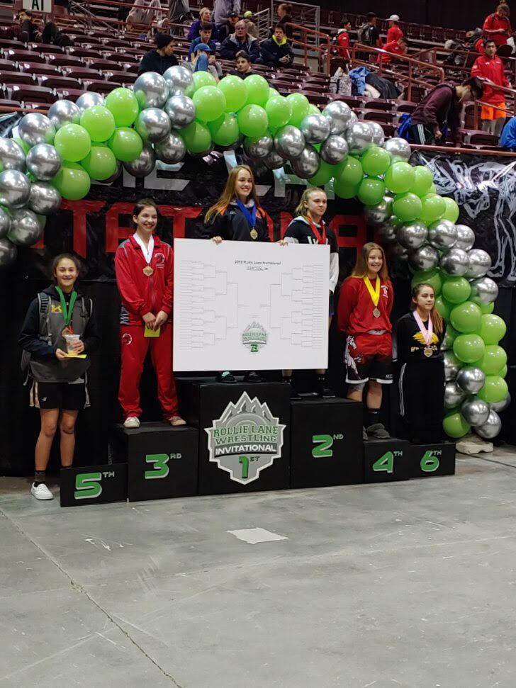 Brigid Shannon podium