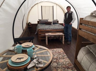 Covered Wagons Glamping