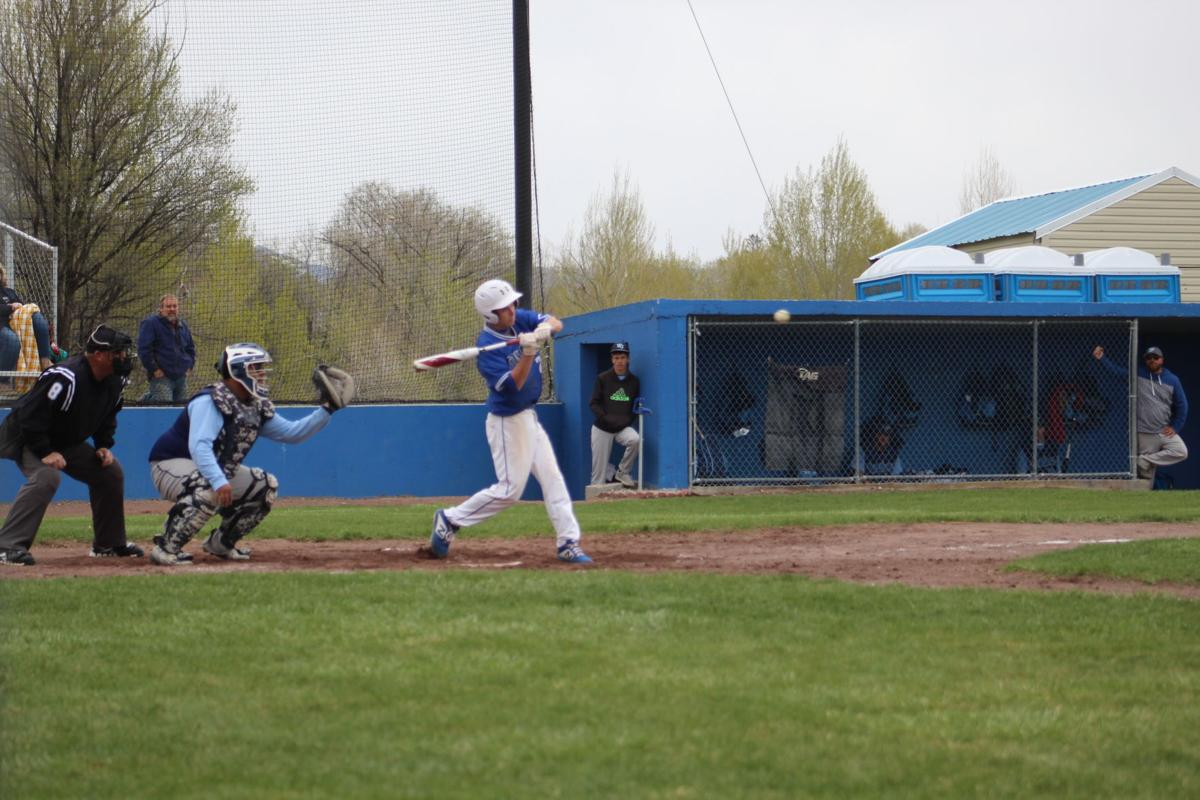 Cougars tame Huskies in Nuclear baseball