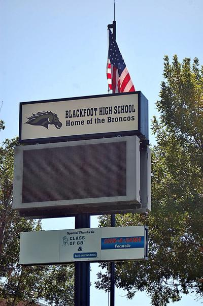 BHS sign