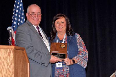 Ririe board clerk awarded Clerk of the Year