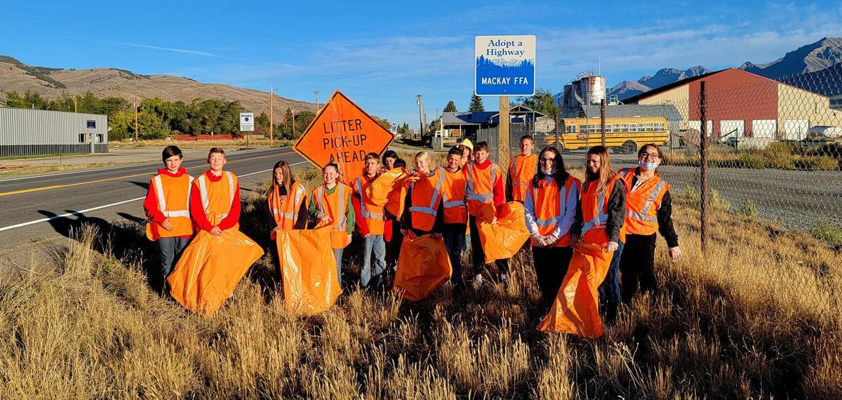 Mackay FFAers tidy up highway