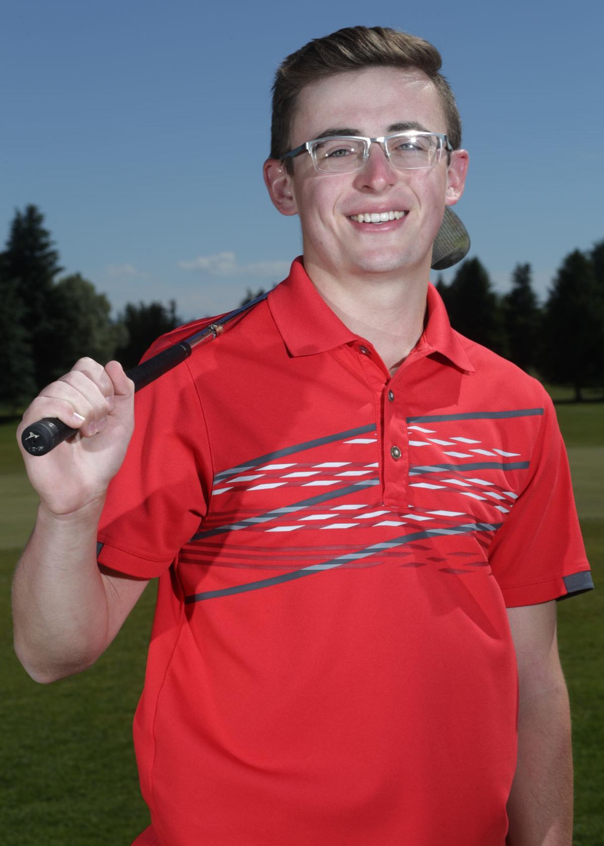 Davis Weatherston golfer of the year
