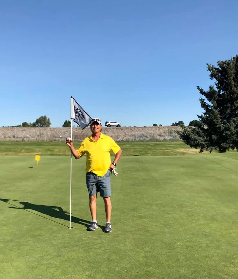 Hole in One for Ron Ramsey in Rupe's Tourney