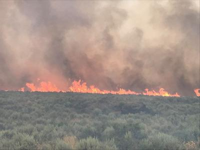 Grassy Ridge fire