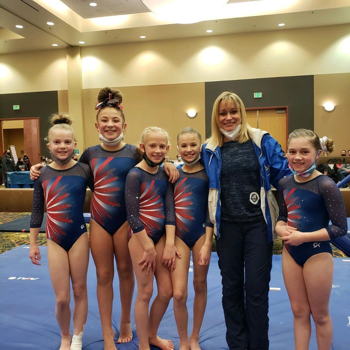 Mighty Tucks gymnasts bring home 49 medals