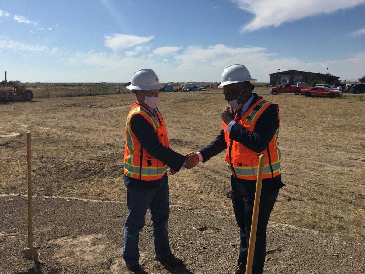 Brian Blad and Ken Brown Frigitek Industrial Parks