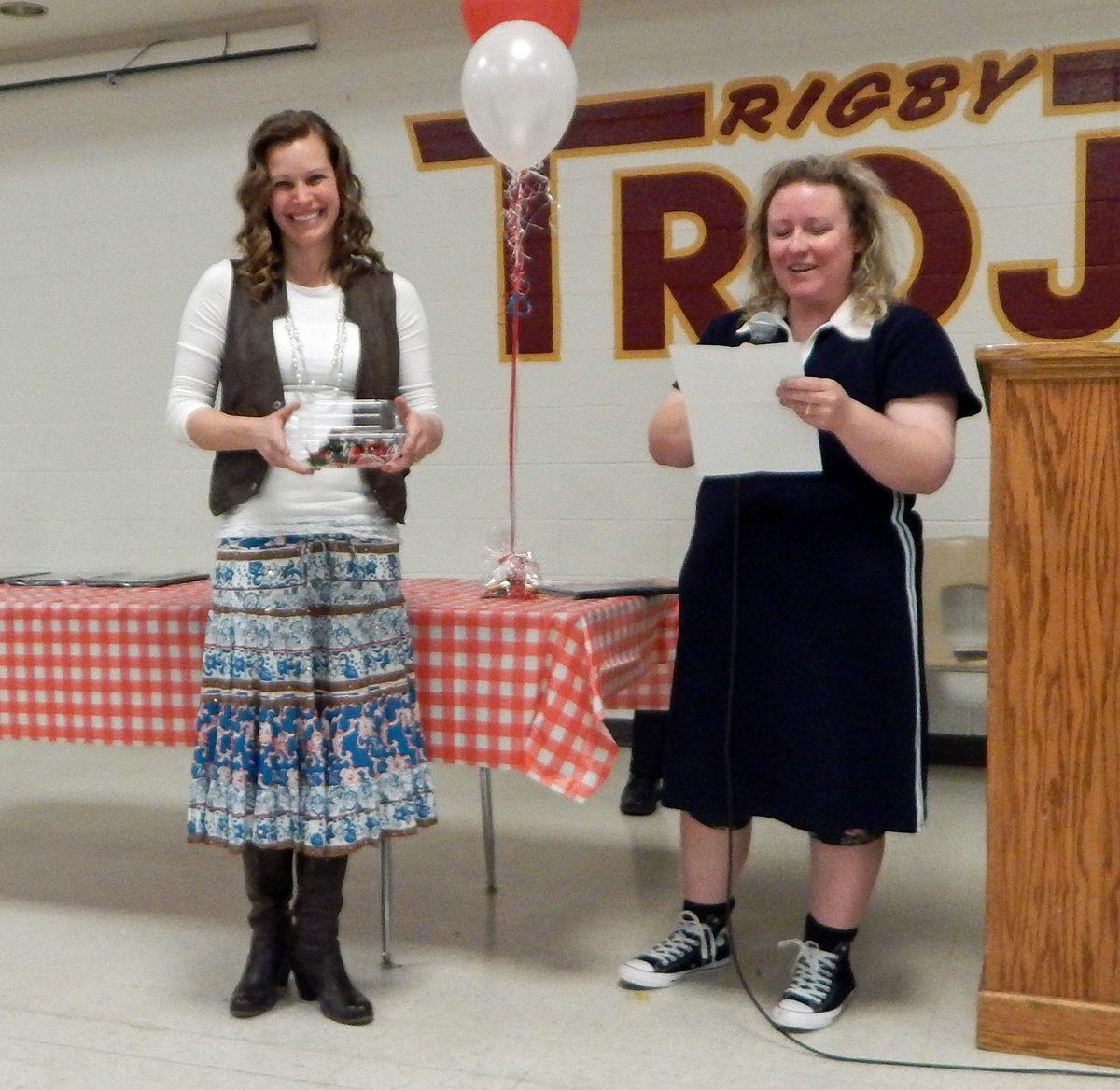 Community members recognized at annual banquet (Farm Bureau)