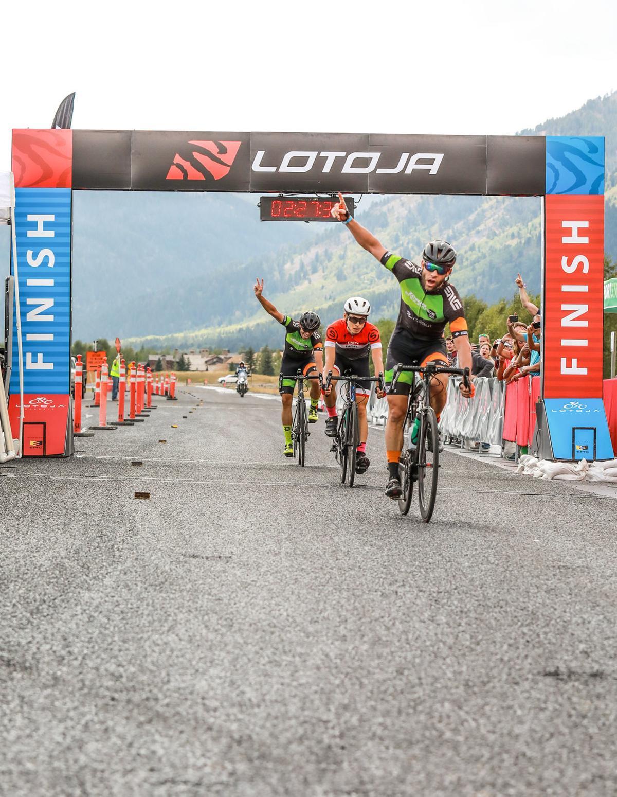LoToJa finish line