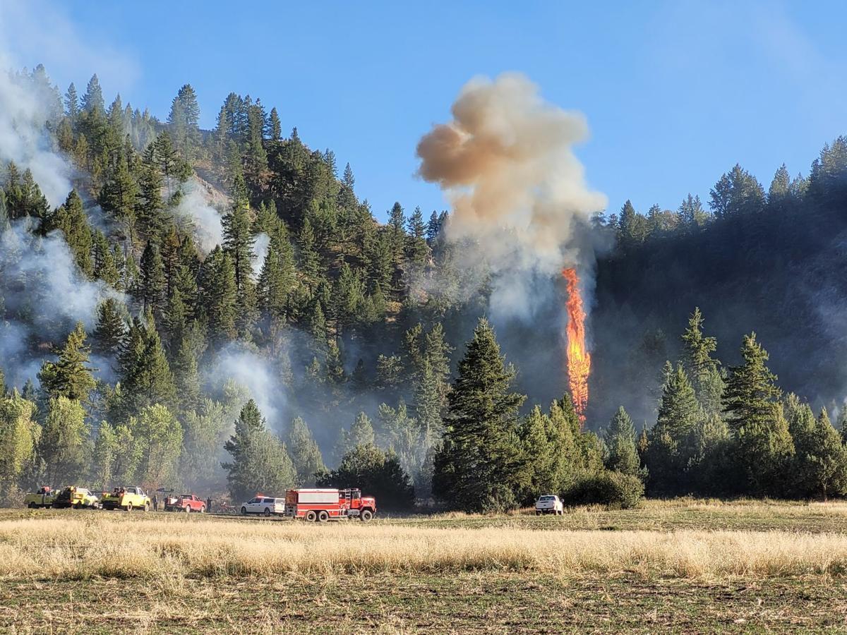 Clark Hill Fire