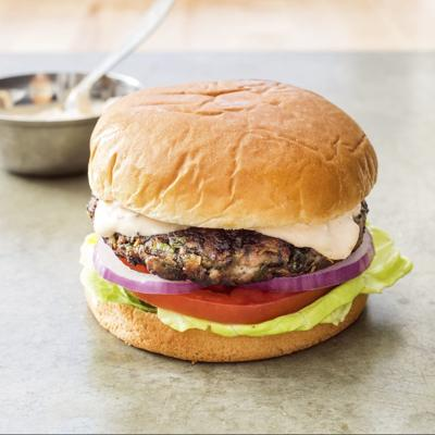 Food Column ATK Black Bean Burger