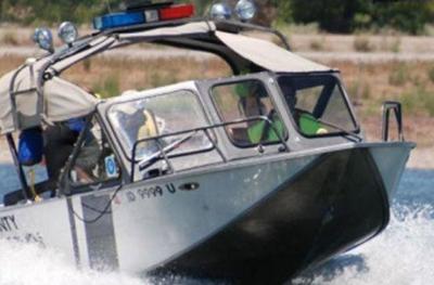 Sheriff's boat