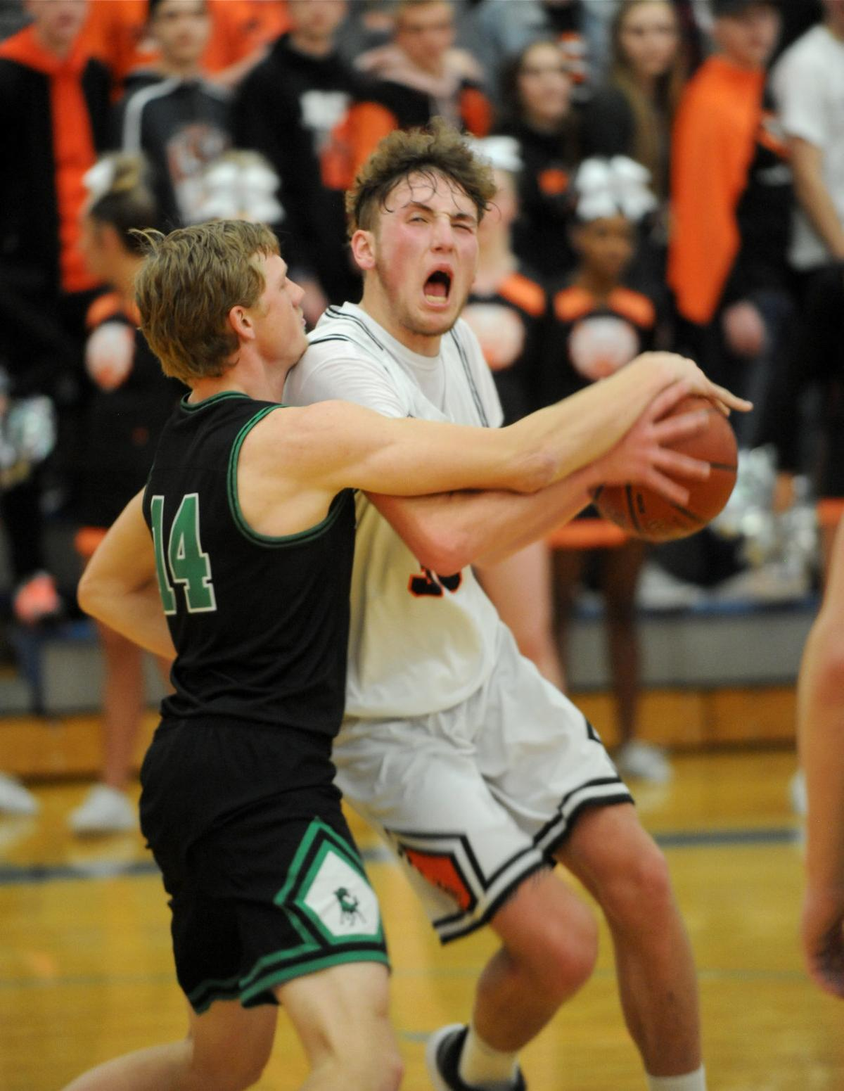 Idaho Falls vs Blackfoot district basketball