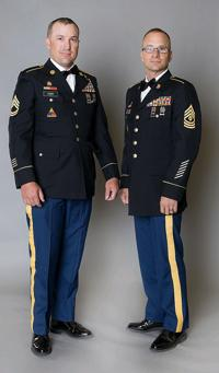 Avery brothers retire from military
