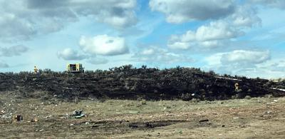 Cinder Butte fire burns 7 acres