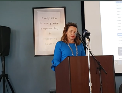 Maggie Mann addresses covid cases