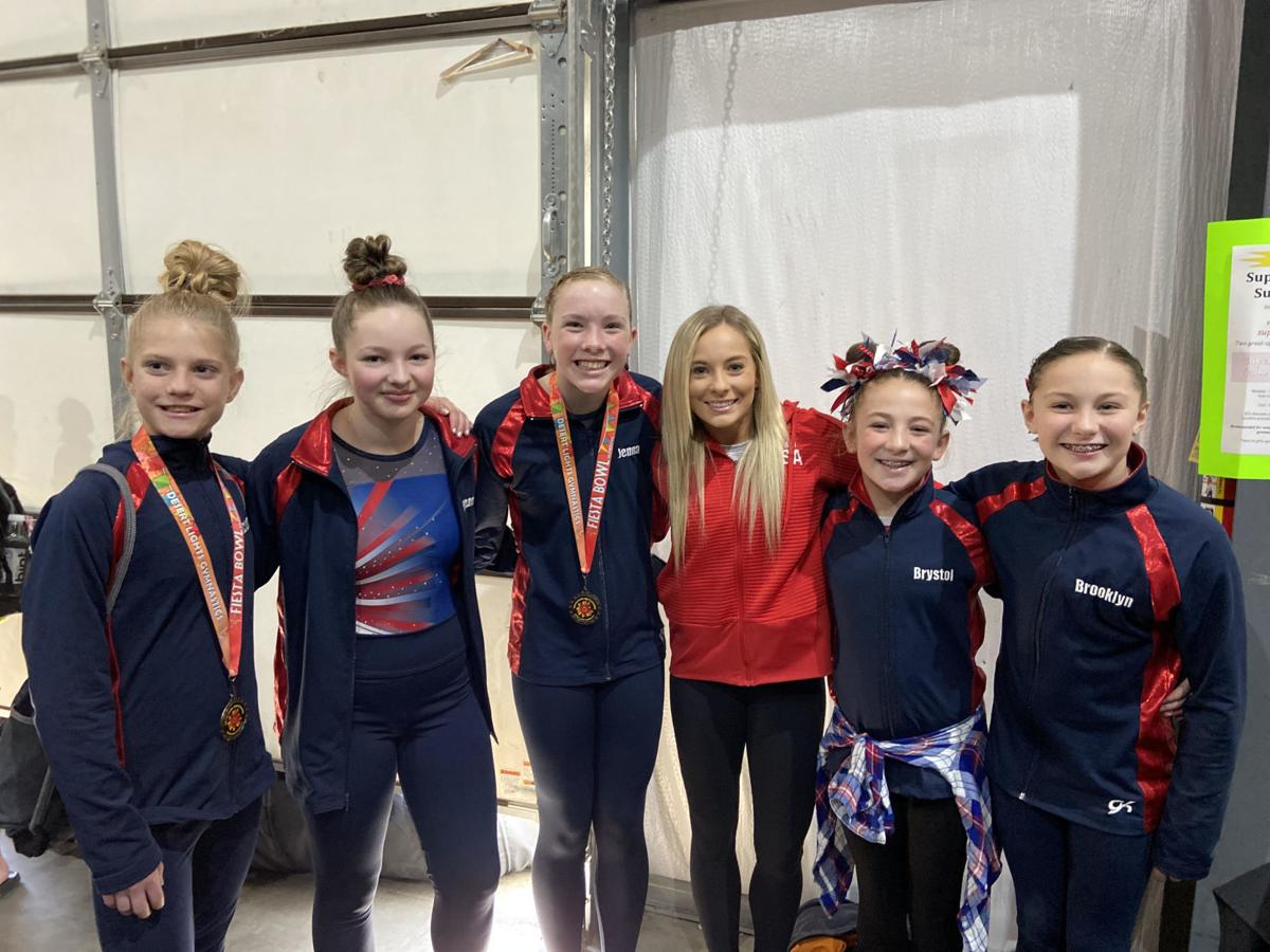 Local gymnasts earn medals at Fiesta Bowl competition
