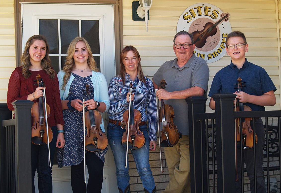 Three Rigby fiddlers come home national champions