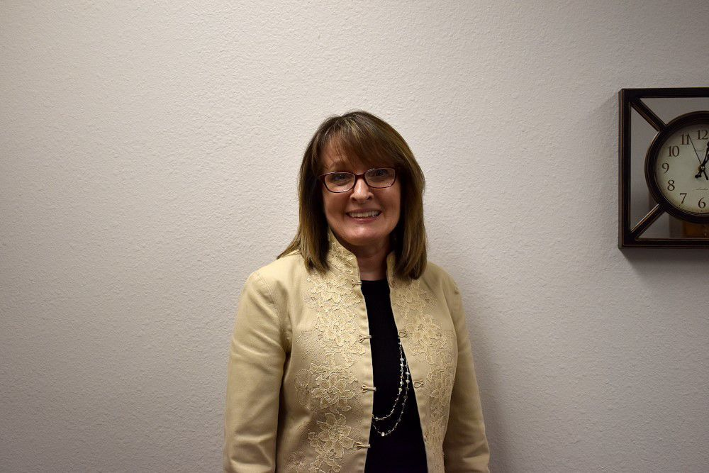 Pam Eckhardt loves working with public