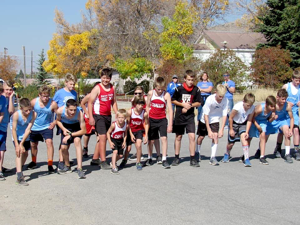 Challis runners all notch personal bests