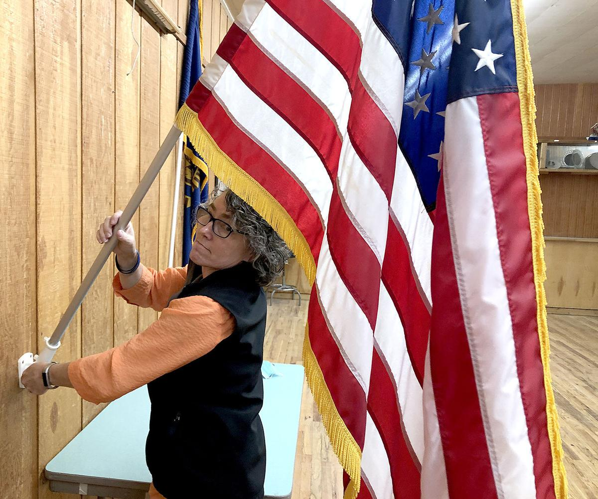 Challis woman continues serving after military