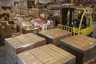 Community Food Basket - LDS donation