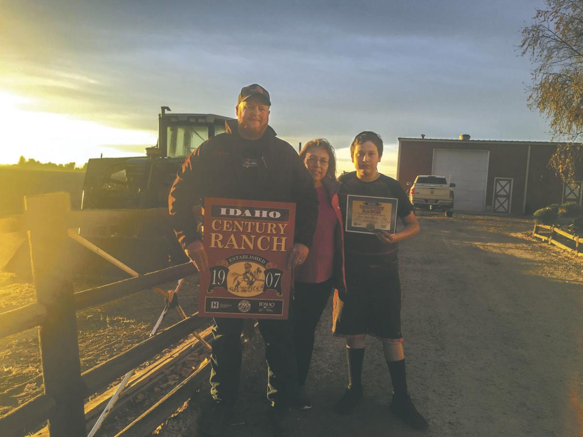 Caldwell family lauded with Century Ranch Award