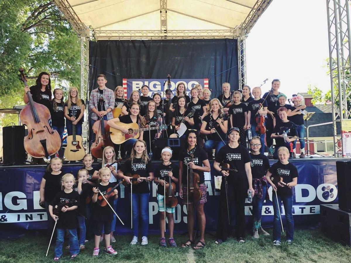 Strings students