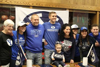 Ty Wright signs letter of intent with BYU