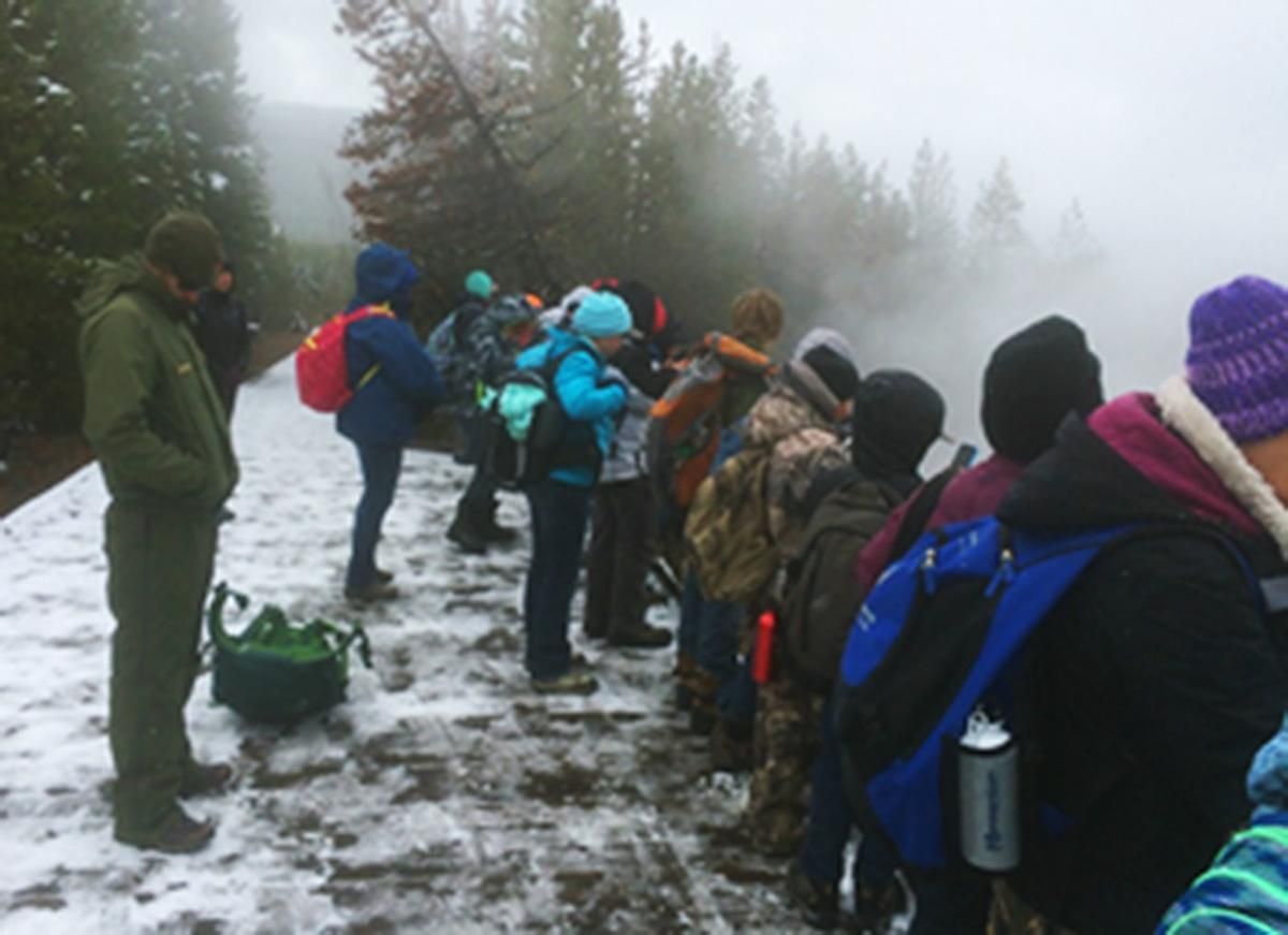 Challis 6th-graders tour Yellowstone