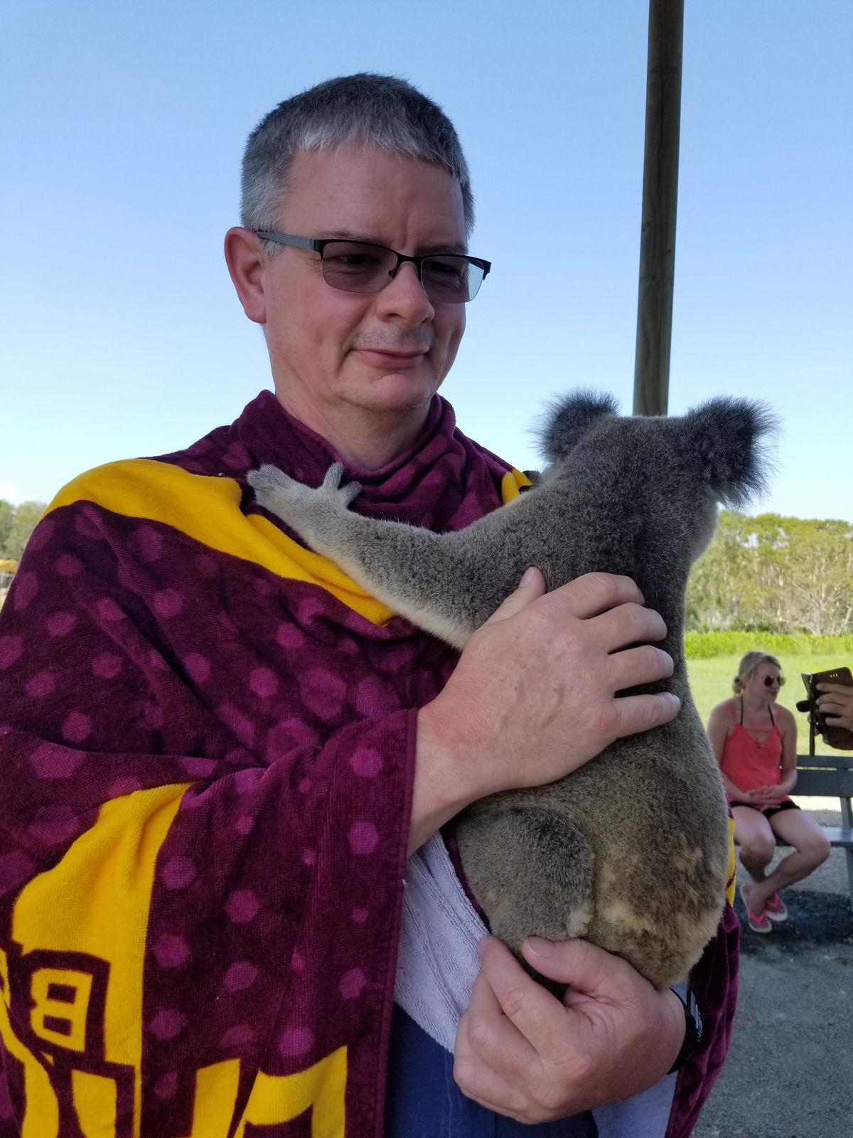 Haights take trip to Australia (Koala)