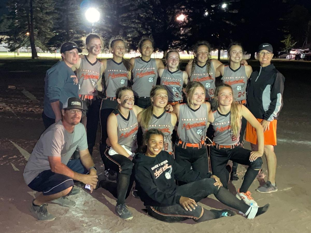 Snake River Hysteria Black 16U wins Ball on the Falls silver title
