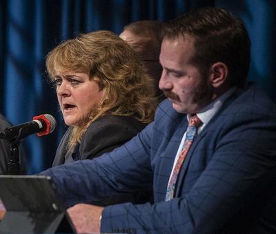 Barbara Ehardt, Bryan Zollinger at BSU forum