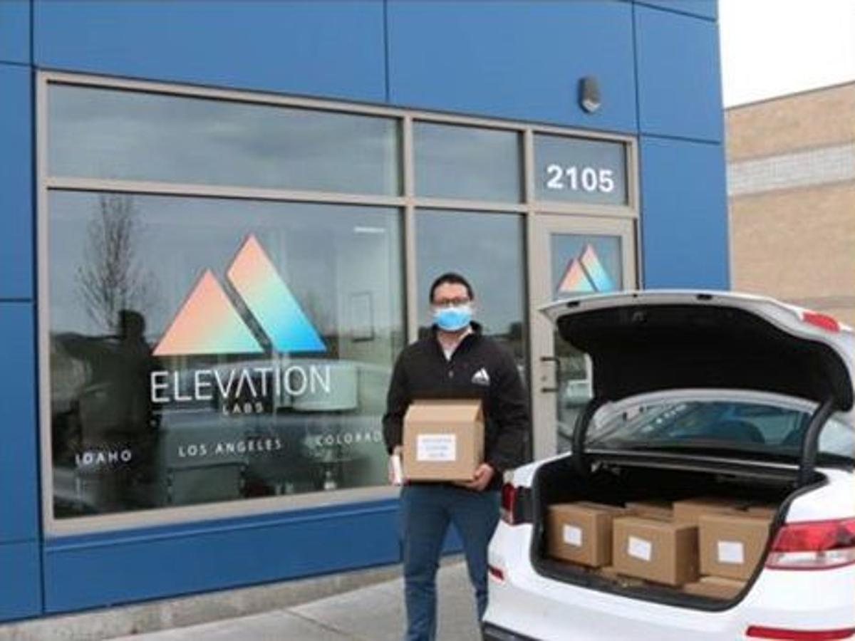 Elevation Labs Selling Sanitizer For Reopening Businesses Local News Postregister Com