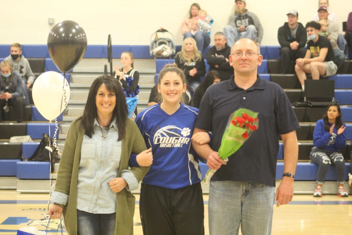 Firth notes girls' basketball Senior Night