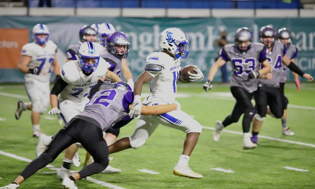 Sugar-Salem rolls over Snake River to advance to 3A championship football game