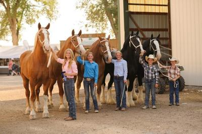 Barney family wins first five places at State Fair