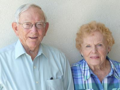 70th anniversary: Kenneth and Jean Brown