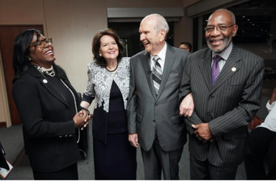 President Nelson joins leaders of the NAACP in condemning racism and calling for increased love and understanding